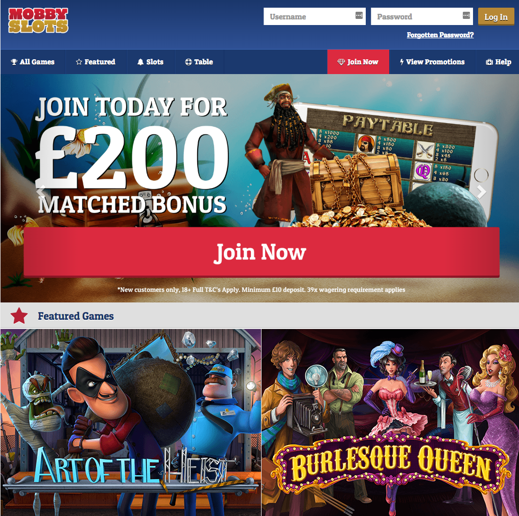 Mobby Slots Casino Review - Is this A Scam/Site to Avoid