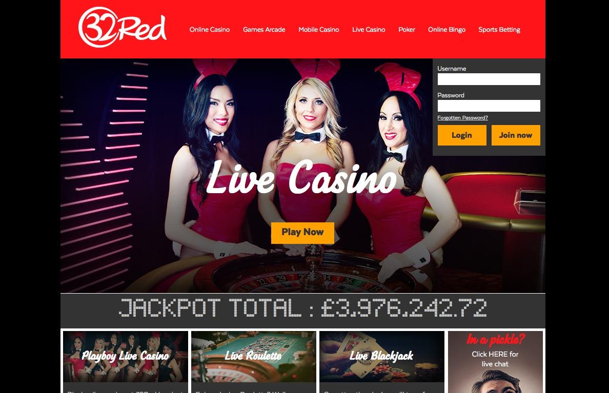 32red mobile casino bonus