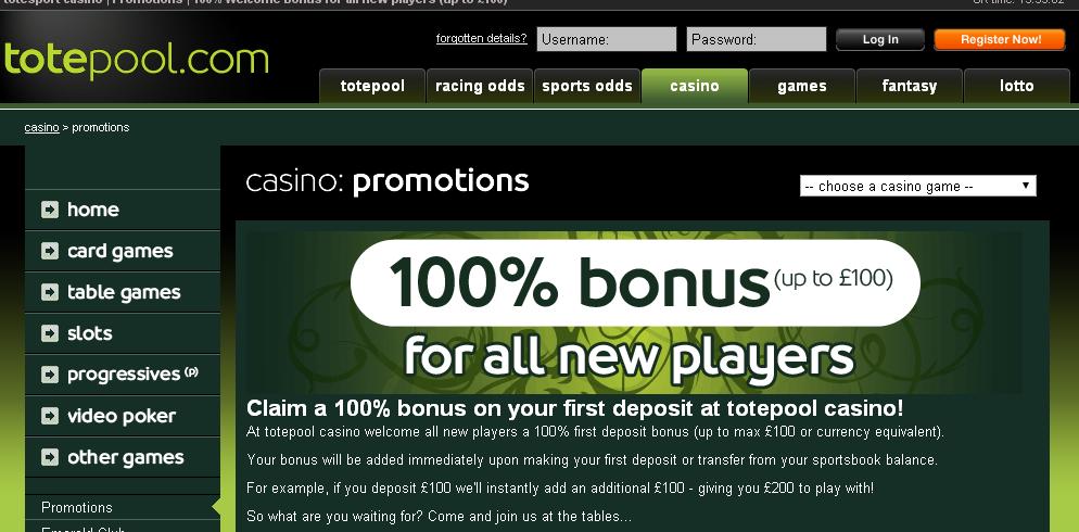 Totepool Casino